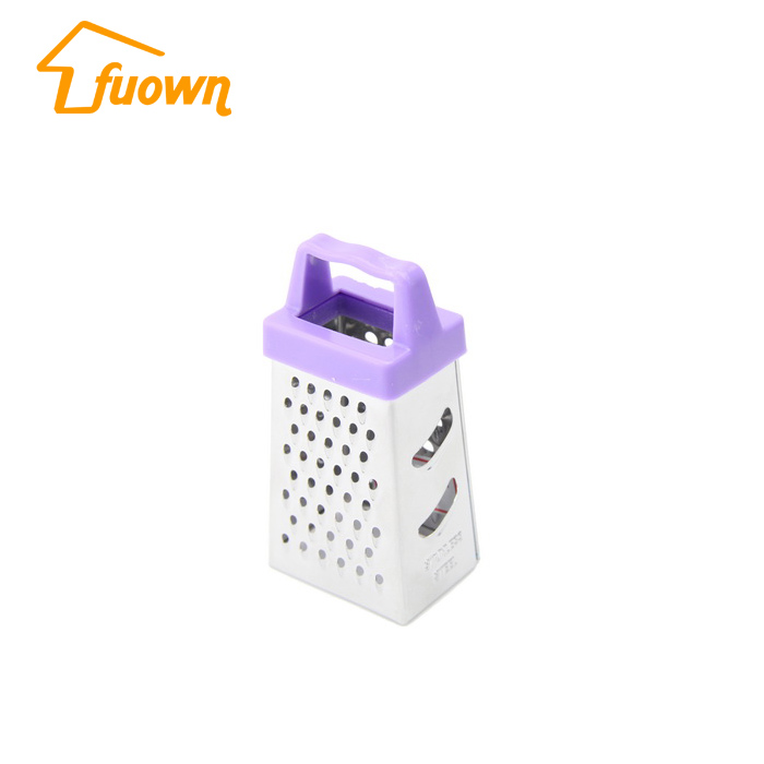 3 Inch Hot Selling Cheap Price Kitchen Tools 4 Sides Stainless Steel Mini Grater