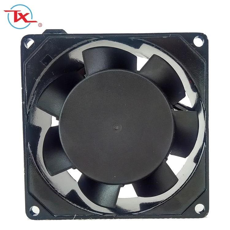 Ventilador de enfriamiento de CA pequeño de alta velocidad de 80 mm