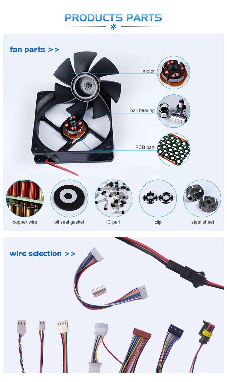 5v sleeve bearing dc brushless fan