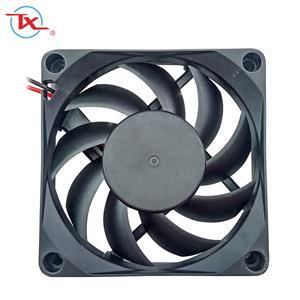 70mm Low Noise Dc Brushless Fan