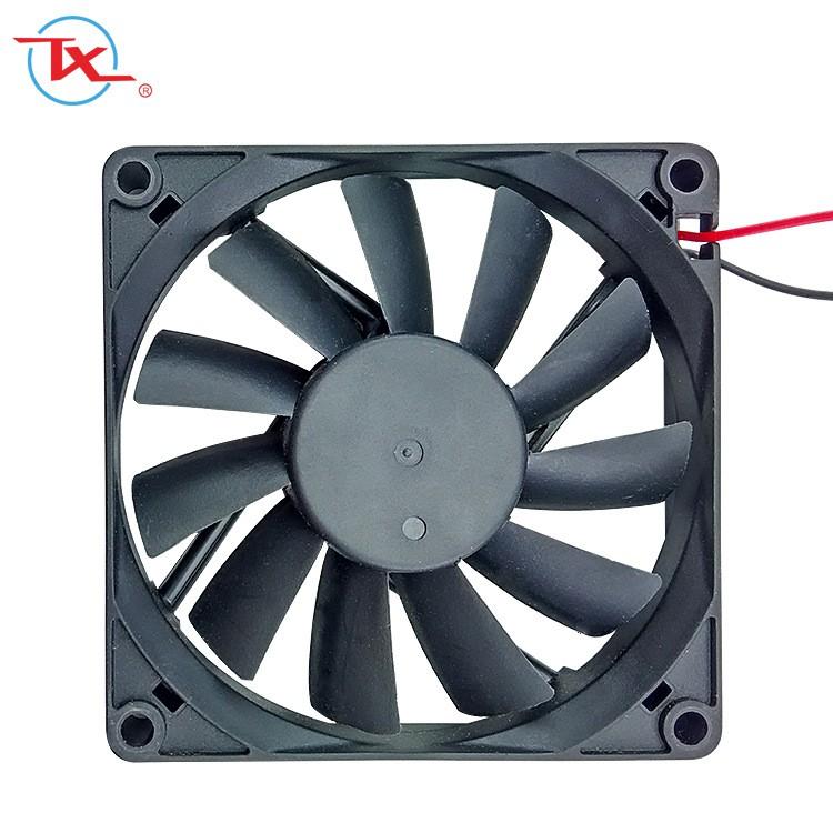 Ventilador sin escobillas Dc de alambre de cobre de 80 mm