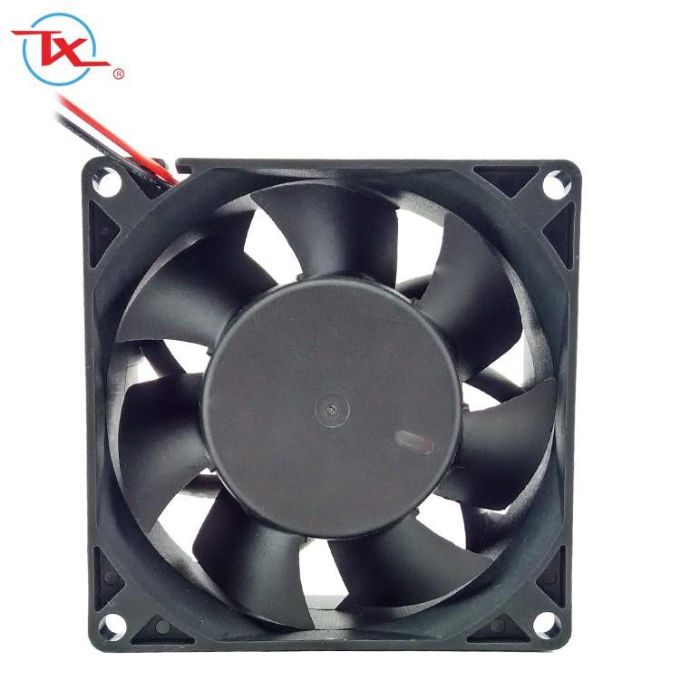 Ventilador sin escobillas IP68 Dc de 80 mm
