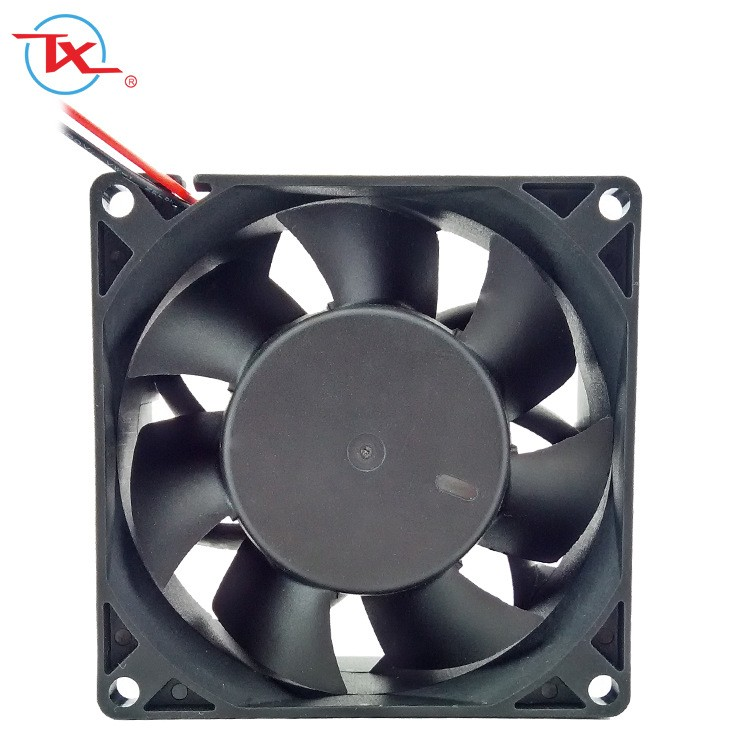 80 mm IP68 borstelloze ventilator