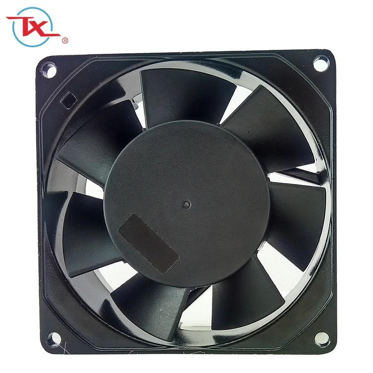 Ventilador de enfriamiento de CA de flujo axial de 92 mm