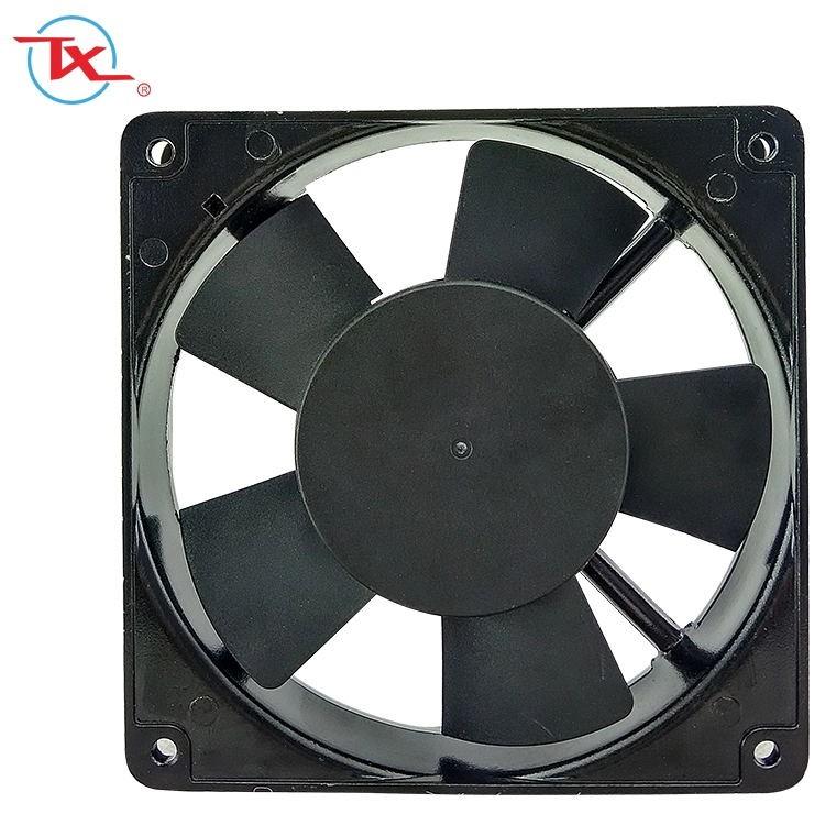 Ventilador de enfriamiento de CA de ventilación industrial de 110 mm