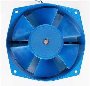 160mm Blue Color AC Cooling Fan For Welding Machine