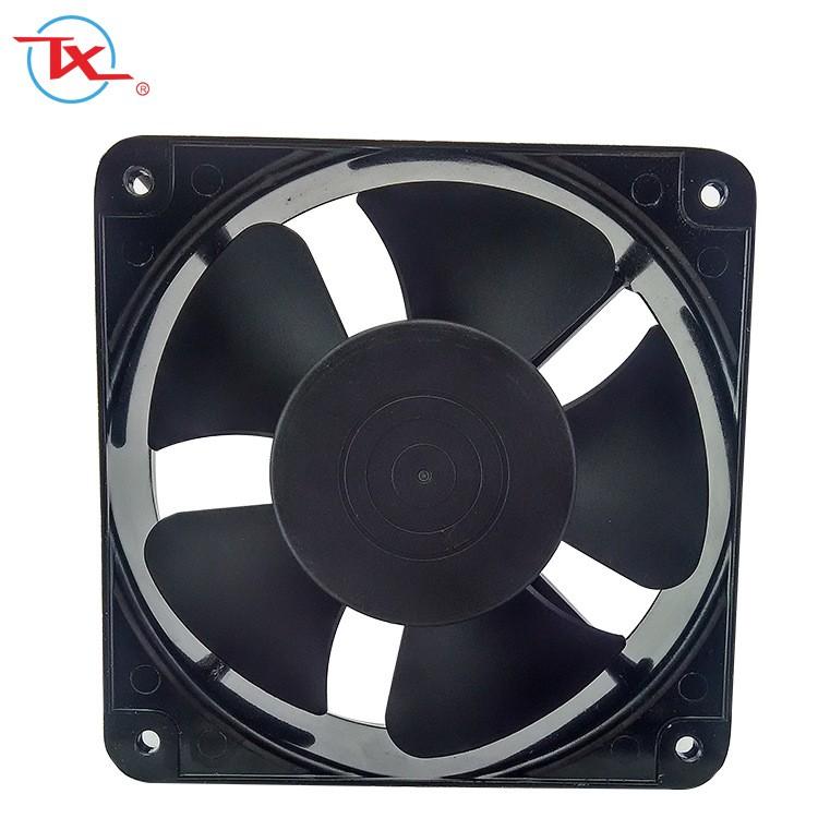 Ventilador de enfriamiento de CA de 180 mm de alto flujo de aire