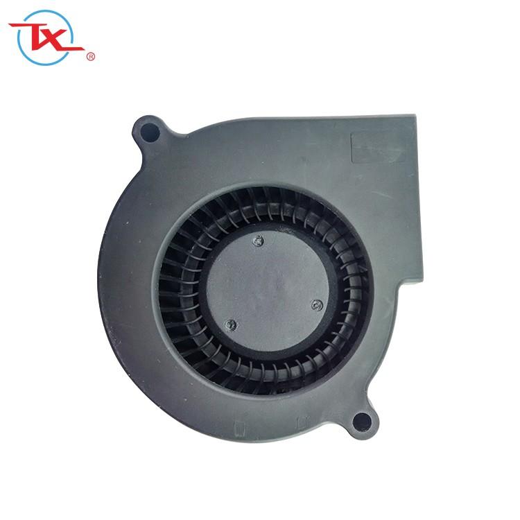 Soplador de 50 mm con rodamiento de bolas Mini Dc