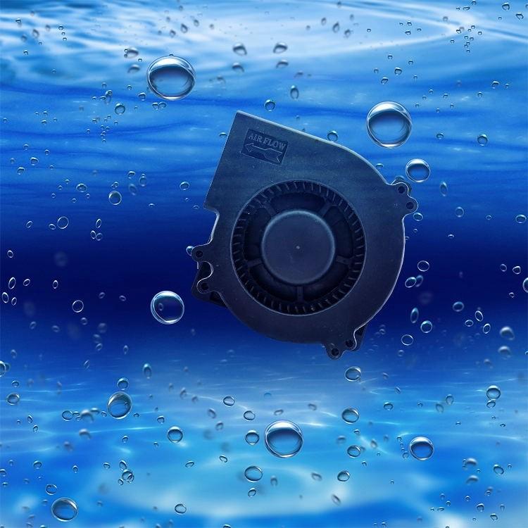 Ventilador Mini Dc con rodamiento de manga de 60 mm