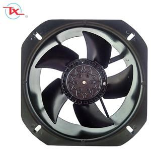 225mm Metal Frame And Blade AC Cooling Fan