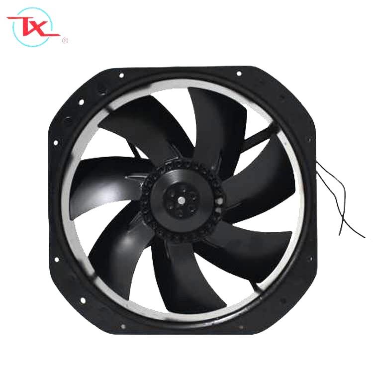 Ventilador de enfriamiento de CA de rotor externo de 280 mm