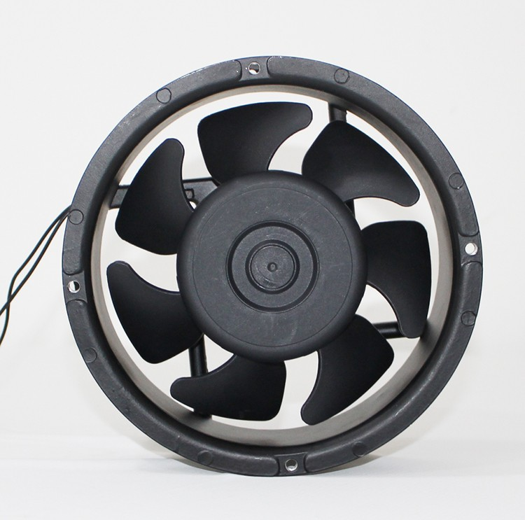 172mm Plastic Blade Round EC Cooling Fan