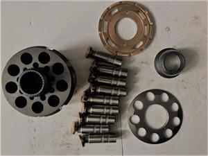 ZX330 Hitachi Excavator Hydraulic Pump Parts , Excavator Travel Motor Parts