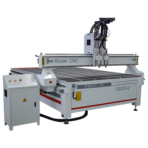 3 Spindles CNC Router for wood furniture