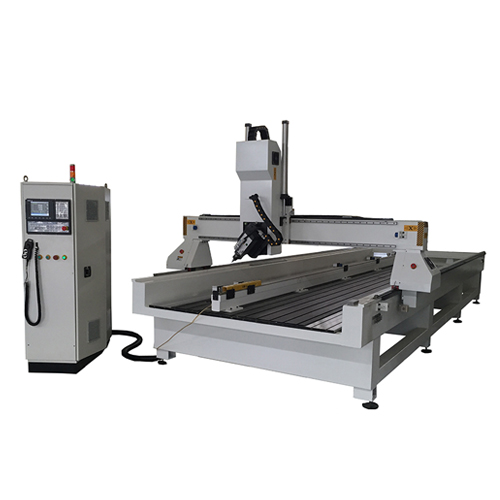 CNC Router With Rotary Axis Attached