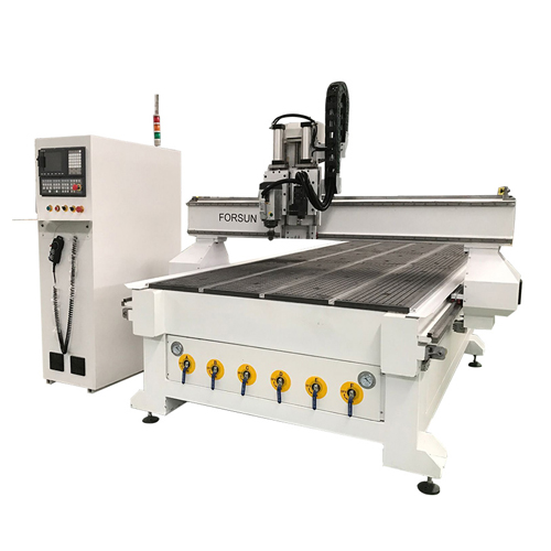 CNC Cutting Machine With Oscillating Knife For Cardboard