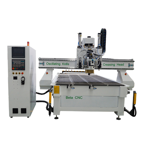 ATC CNC Router With Oscillating Knife For Flexible Materials