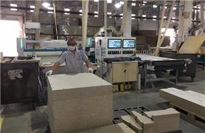 Beta CNC Router in famous Chinese Panel furniture manufacturer factory