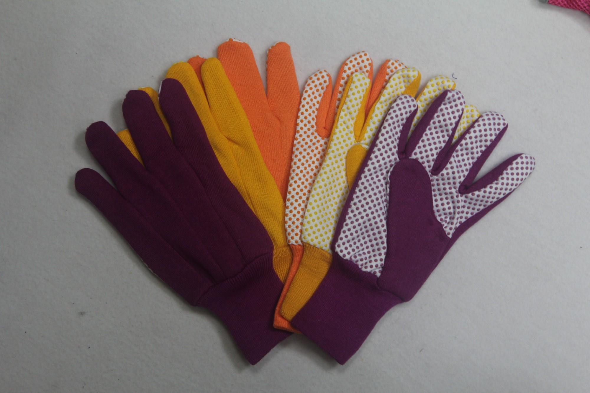 PVC Dots Mutiple-color Glove Manufacturers, PVC Dots Mutiple-color Glove Factory, Supply PVC Dots Mutiple-color Glove