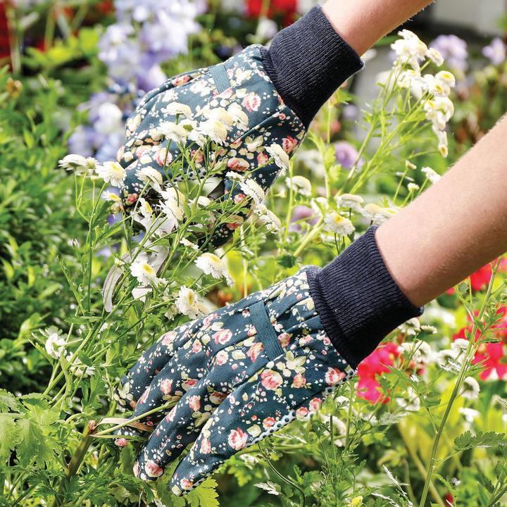 Floral Pattern E Garden Gloves Manufacturers, Floral Pattern E Garden Gloves Factory, Supply Floral Pattern E Garden Gloves