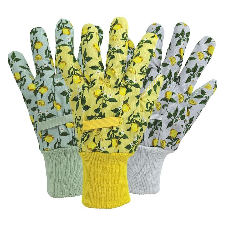 Lemon Leaf Garden Gloves