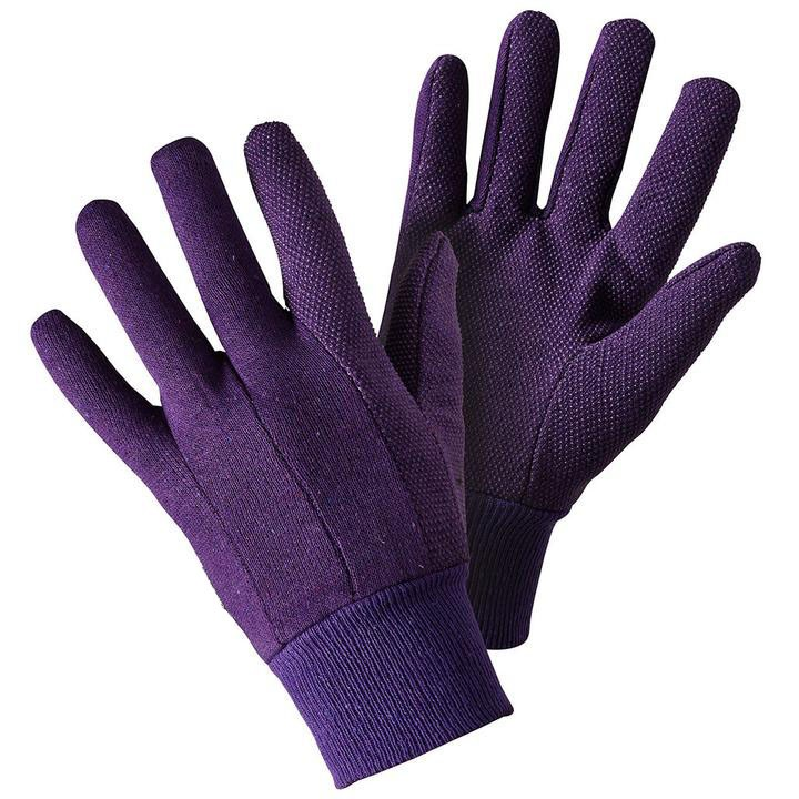 Jersey Mini Grip Lavender Gloves