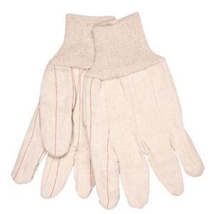 Corduroy Natural White Gloves