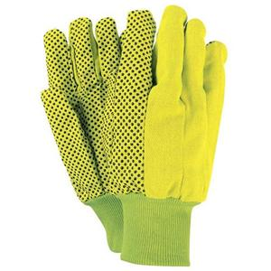 Green With PVC Dots Gloves