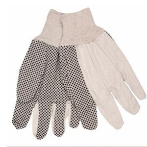 Natuurlijk wit met PVC Dots-handschoenen
