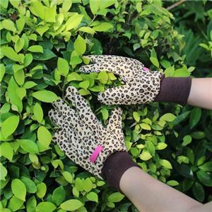 Leopard Garden Gloves