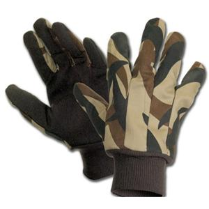 Camouflage With PVC Dots Glove