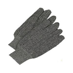 Cotton Jersey Glove Knitwrist Salt-and-Pepper