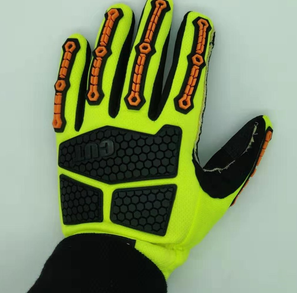 Sales Anti-cutting Protective Mechanical Gloves