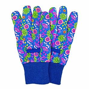 Floral Pattern A Garden Gloves