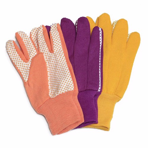 PVC Dots Mutiple-color Glove