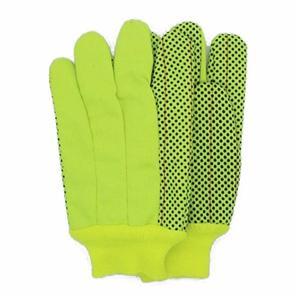 Corduroy Florescent With PVC Dots Gloves