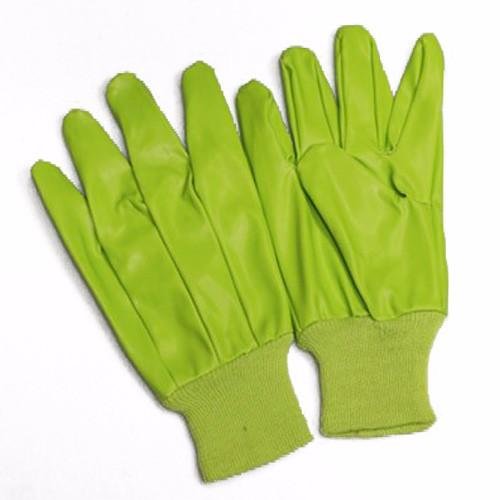 PVC Green Gloves