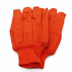 Corduroy Orange Gloves