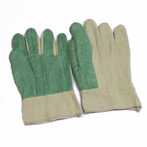Corduroy Green Gloves