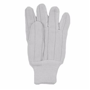 Corduroy Bleach White Gloves