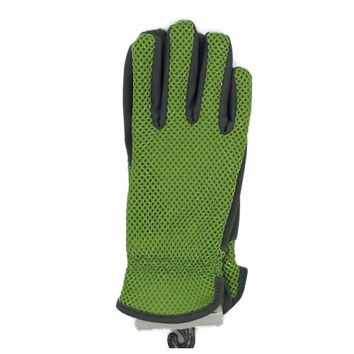 Net Green Gloves