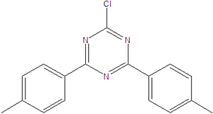2-chloro-4,6-di-p-tolyl-1,3,5-triazin 21902-34-1