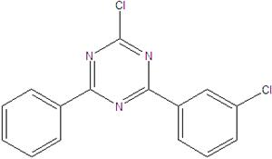 2-Kloro-4- (3-klorofenil) -6-fenil-1,3,5-triazin 2125473-29-0