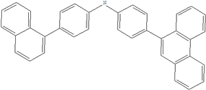 4- (naphthalen-1-yl) -N- (4- (phenanthren-9-YL) phenyl) anilin