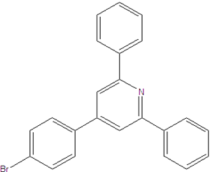 4-(4-bromophenyl)-2,6-diphenylpyridine 1498-81-3