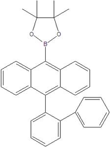 10 (2-biphenyl) -9-Indoleboronic pinacol axit este 1184301-61-8