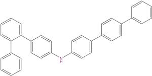 N-([1,1′:4′1″-terphenyl]-4-yl) -[1,1:2′1″-terphenyl] -4-amine 1222634-03-8