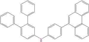 N- (4 (phenanthren-9-YL) phenyl) - [1,1 '': 2,1