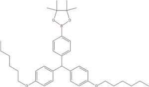 N, N-Bis (4- (Hexyloxy) Phenyl) Amine-4-Pinacol este 1221821-41-5