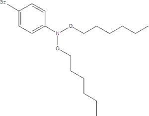 N, N-Bis (4-hexyloxy) -N- (4-bromophenyl) Amine